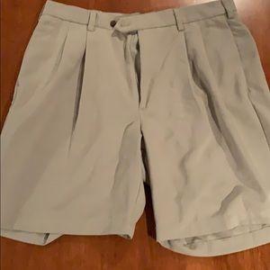 One pair of men's Haggar walking shorts